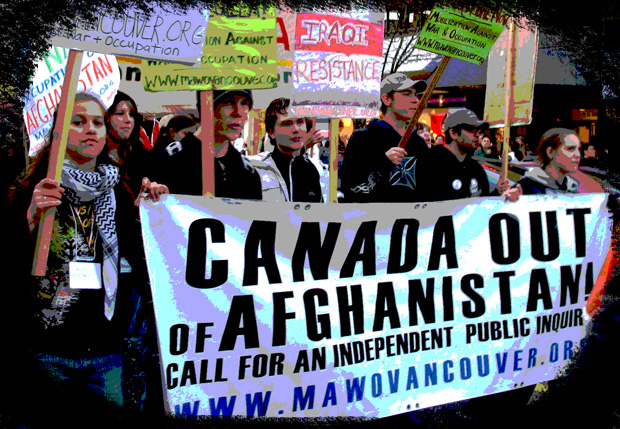 Canada Out of Afghanistan Now! - MAWO Rally & March January 2007